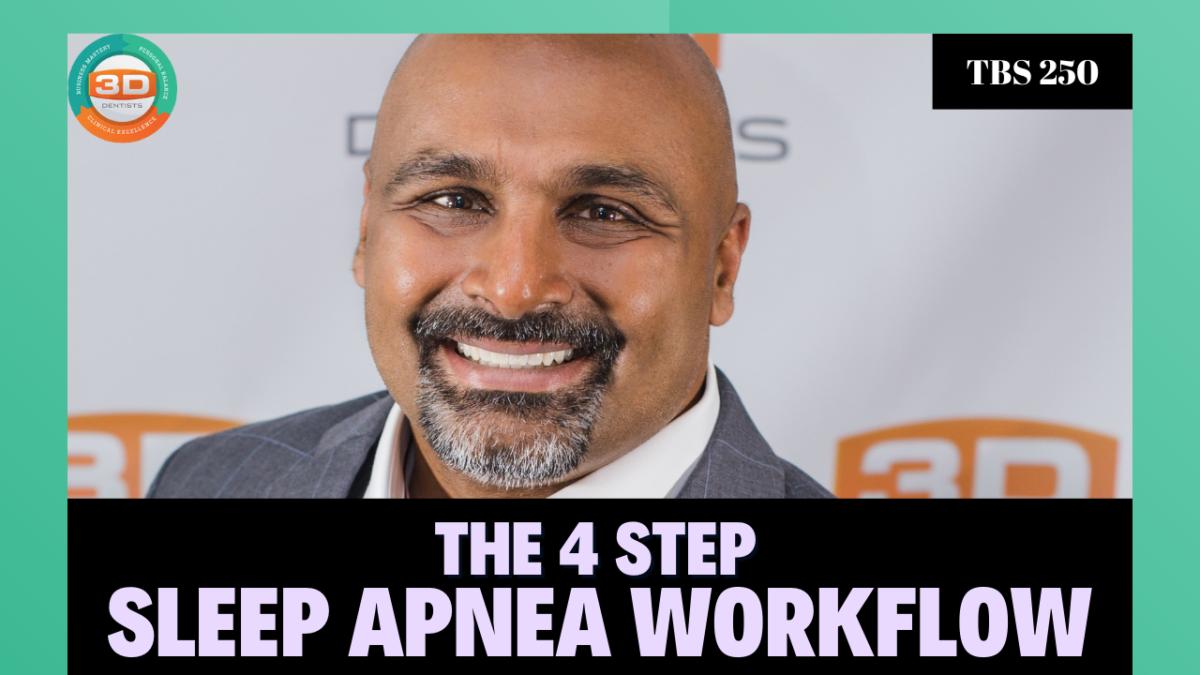 Le flux de travail de l'apnée du sommeil en 4 étapes